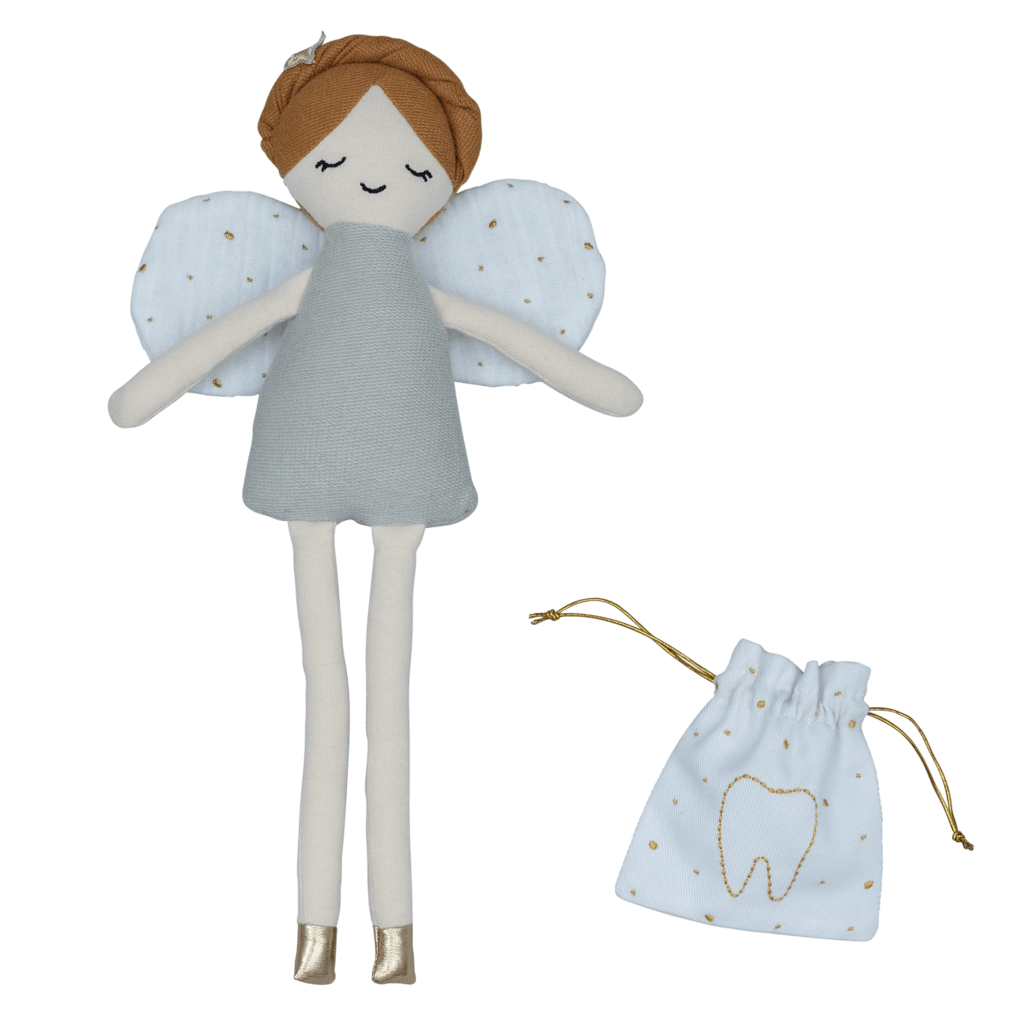 Fabelab Organic Cotton Tooth Fairy Doll - Naked Baby Eco Boutique