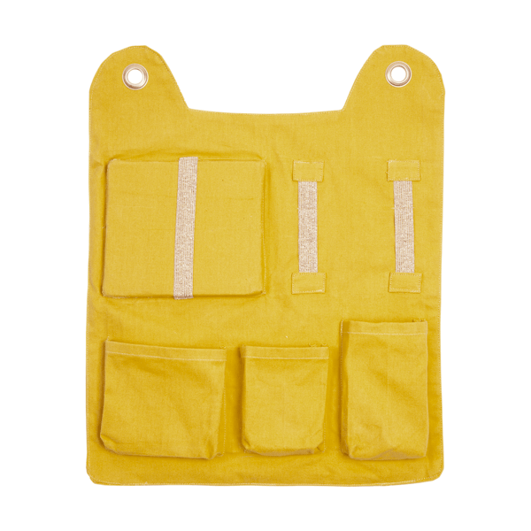 Fabelab Organic Cotton Animal Wall Pockets (Multiple Variants) - Naked Baby Eco Boutique