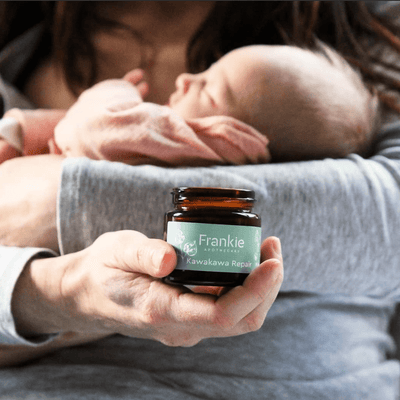 Frankie Apothecary Kawakawa Repair Balm (Multiple Sizes) - Naked Baby Eco Boutique