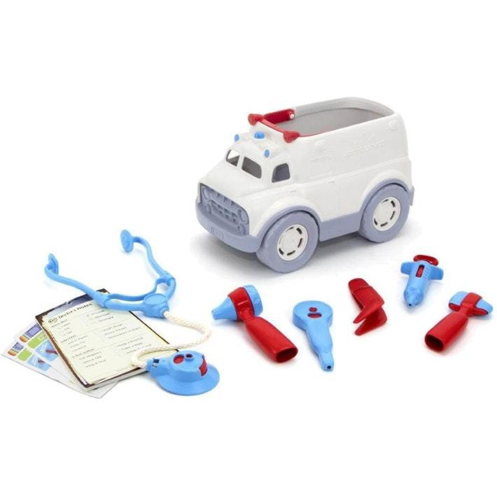 Green Toys Ambulance & Doctor's Kit - Naked Baby Eco Boutique