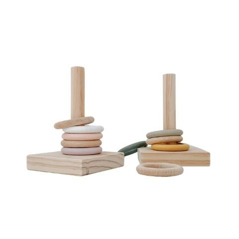 Grove & Willow Ring Stacker (Multiple Variants) - Naked Baby Eco Boutique