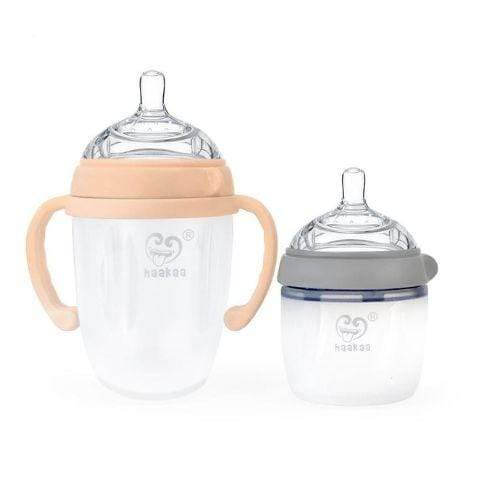 Haakaa Gen 3 Silicone Baby Bottles (Multiple Variants) - Naked Baby Eco Boutique