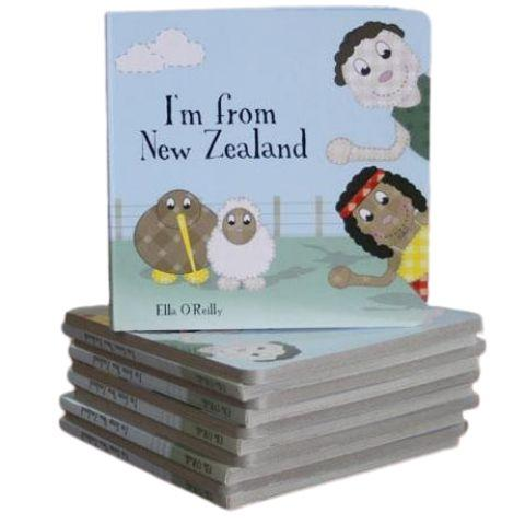 """I'm From New Zealand"" Book - Naked Baby Eco Boutique"