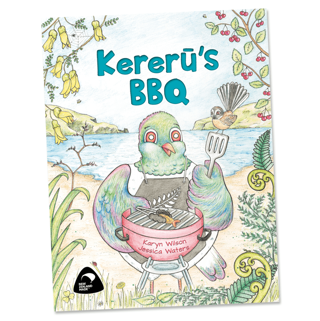 Kererū's BBQ Book - Naked Baby Eco Boutique