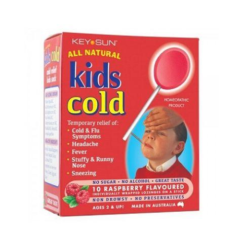 Key Sun All Natural Kids Cold Lollipops - Naked Baby Eco Boutique