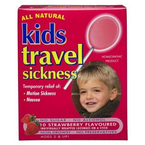 Key Sun All Natural Kids Travel Sickness Lollipops - Naked Baby Eco Boutique