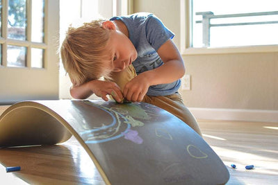 Kinderfeets Balance Board (Multiple Variants) - Naked Baby Eco Boutique