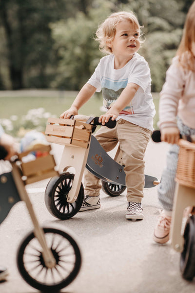 Kinderfeets Tiny Tot PLUS Tricycle + Balance Bike - Naked Baby Eco Boutique