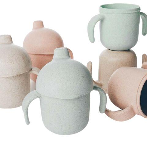 Lion + Lamb Wheat Straw Sippy Cup (Multiple Variants) - Naked Baby Eco Boutique