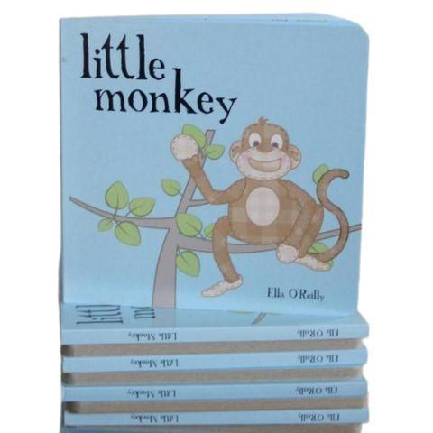 """Little Monkey"" Book - Naked Baby Eco Boutique"