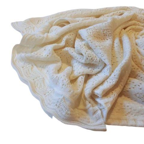 Lola & Me Merino Lace Blanket (Multiple Variants) - Naked Baby Eco Boutique