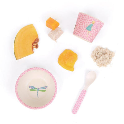 Fairy Love Mae Bamboo Baby Feeding Set (Multiple Variants) - Naked Baby Eco Boutique