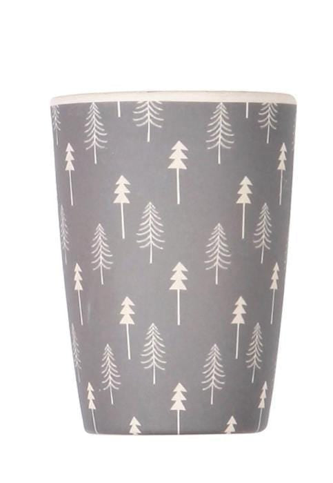 Love Mae Grey Trees Bamboo Tumbler - Naked Baby Eco Boutique