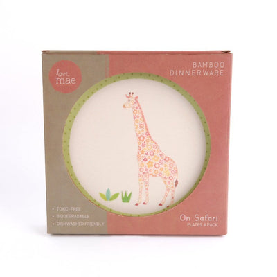 Love Mae Small Bamboo Plates (Multiple Variants) - Naked Baby Eco Boutique