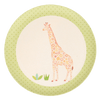 Giraffe - 1 Plate Love Mae Small Bamboo Plates - Naked Baby Eco Boutique