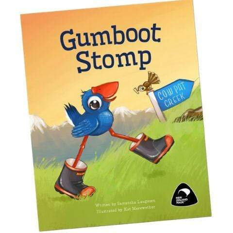 Luke the Pook: Gumboot Stomp Book - Naked Baby Eco Boutique