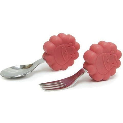 Marcus & Marcus Palm Grasp Spoon & Fork Set (Multiple Variants) - Naked Baby Eco Boutique