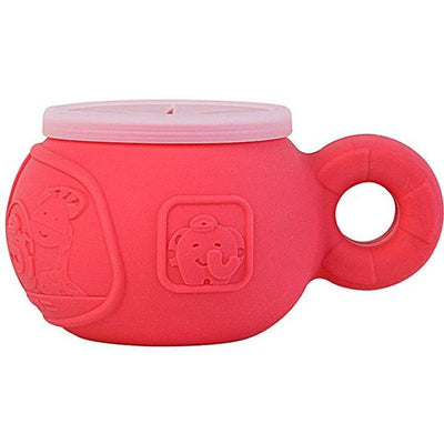 Marcus Lion (Red) Marcus & Marcus Silicone Snack Bowl (Multiple Variants) - Naked Baby Eco Boutique