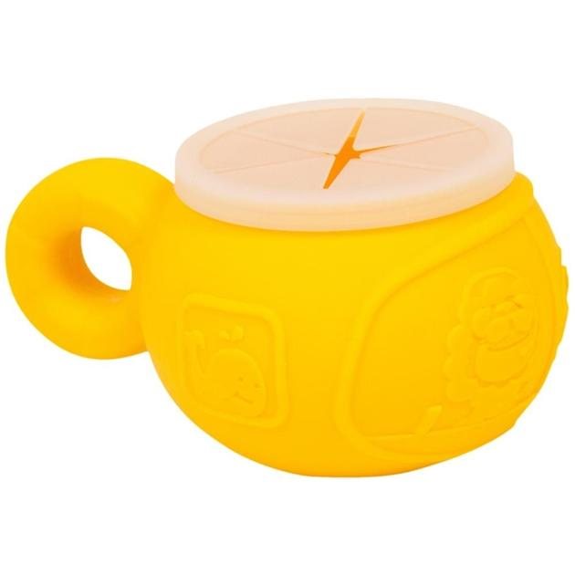 Lola Giraffe (Yellow) Marcus & Marcus Silicone Snack Bowl (Multiple Variants) - Naked Baby Eco Boutique