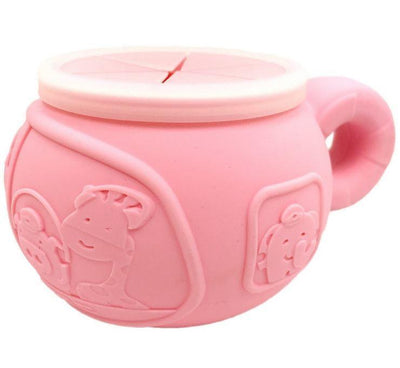 Pokey Pig (Pink) Marcus & Marcus Silicone Snack Bowl (Multiple Variants) - Naked Baby Eco Boutique