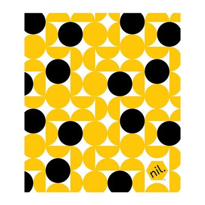 Yellow Dots Munch Nil Eco Dish Cloth (Multiple Variants) - Naked Baby Eco Boutique