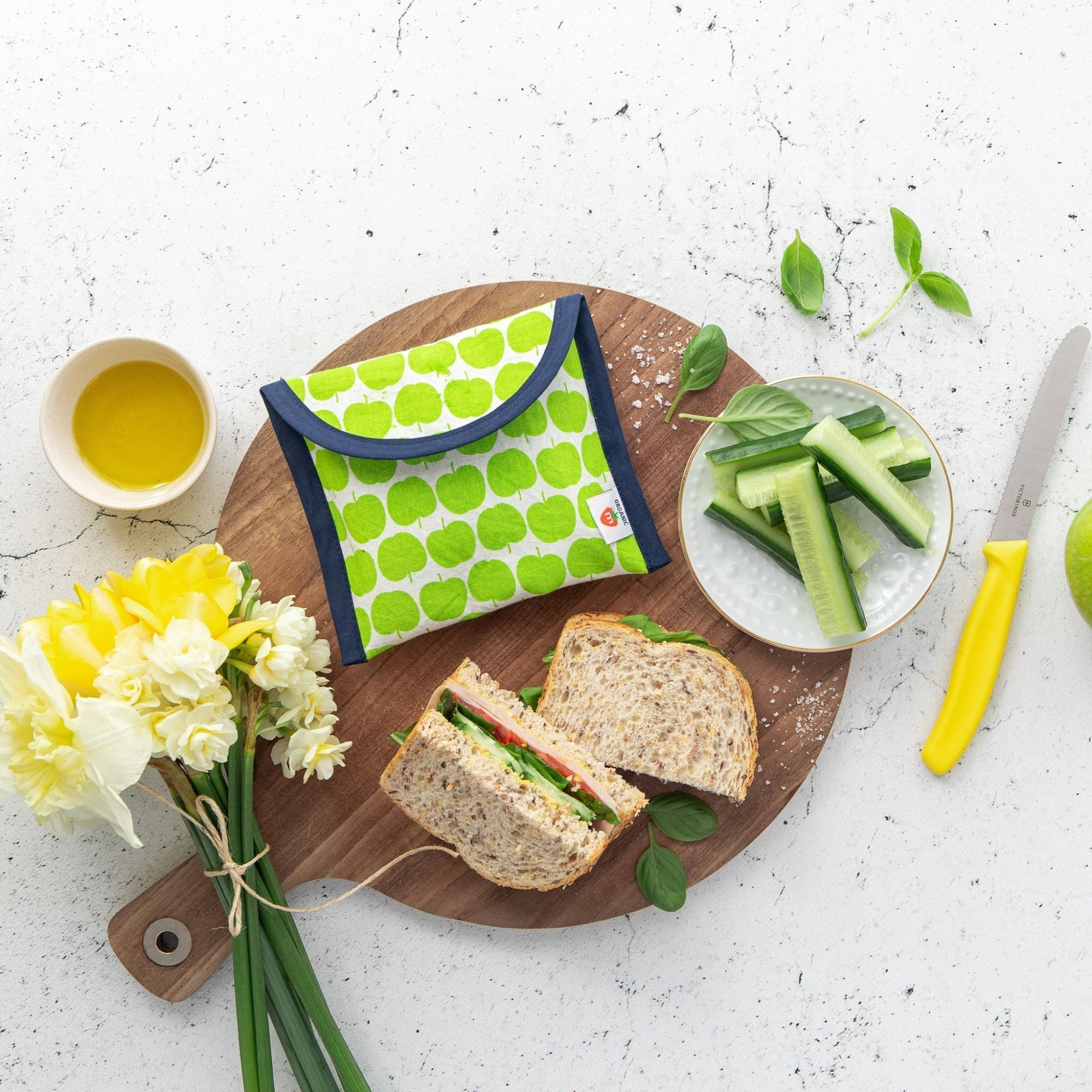 Munch Organic Reusable Lunch Bags - Naked Baby Eco Boutique