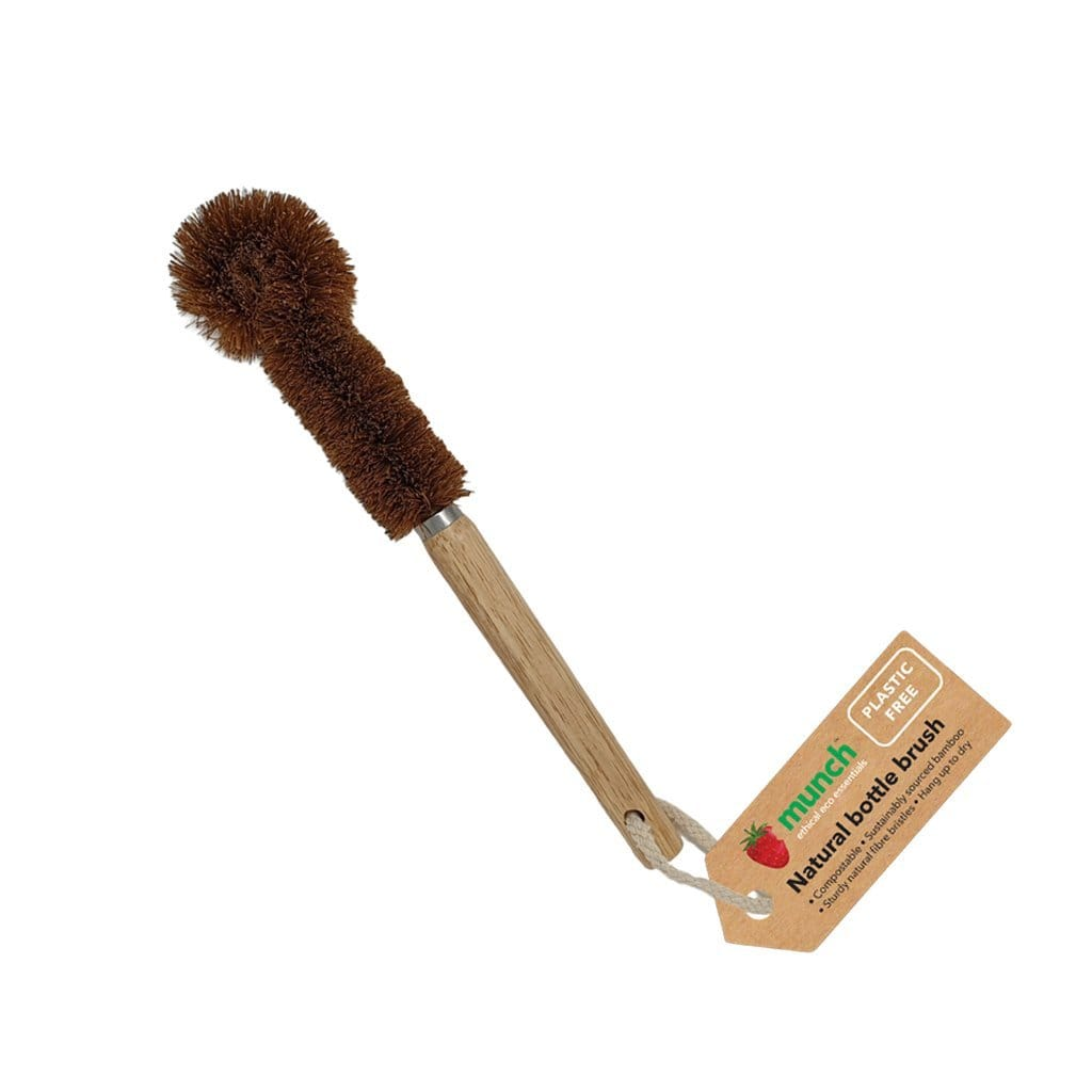 Munch Plastic-Free Bottle Brush - Naked Baby Eco Boutique