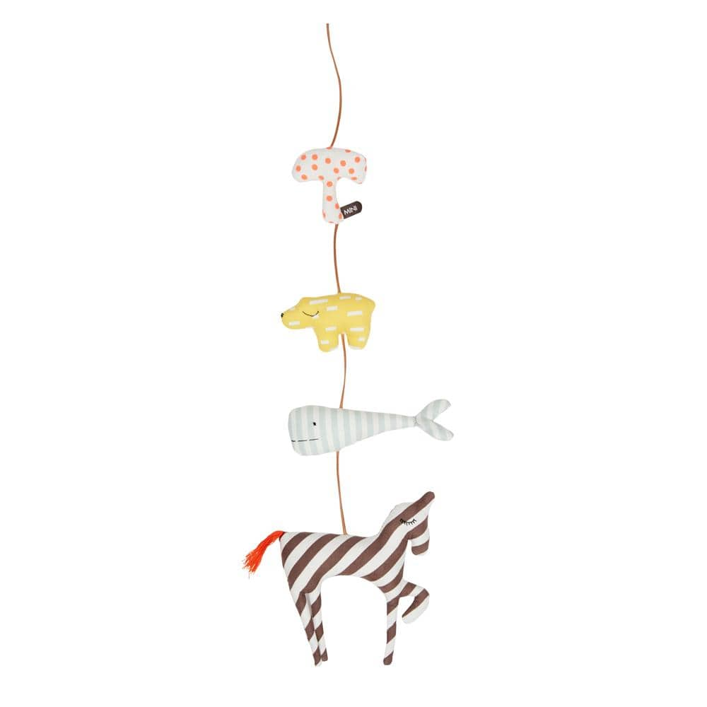 OYOY Mini Organic Cotton Mobile (Multiple Variants) - Naked Baby Eco Boutique