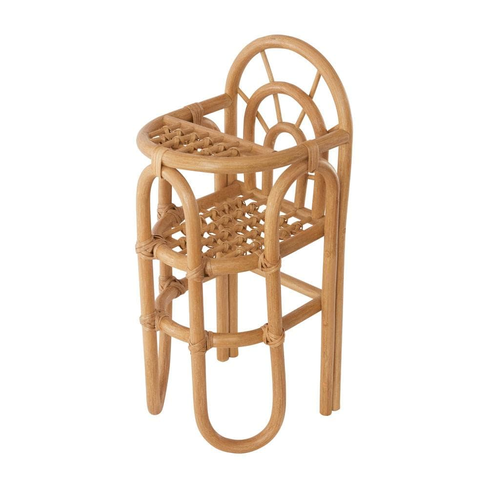 OYOY Mini Rainbow Rattan Doll Chair - Naked Baby Eco Boutique