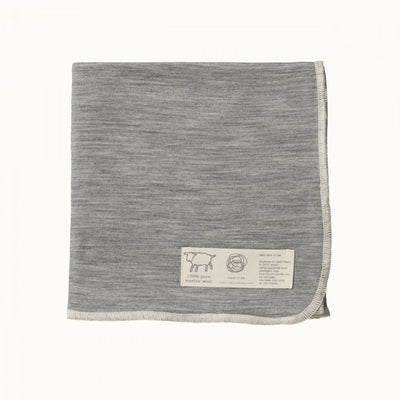 Grey Marle Nature Baby Merino Wool Swaddle Wrap (Multiple Variants) - Naked Baby Eco Boutique