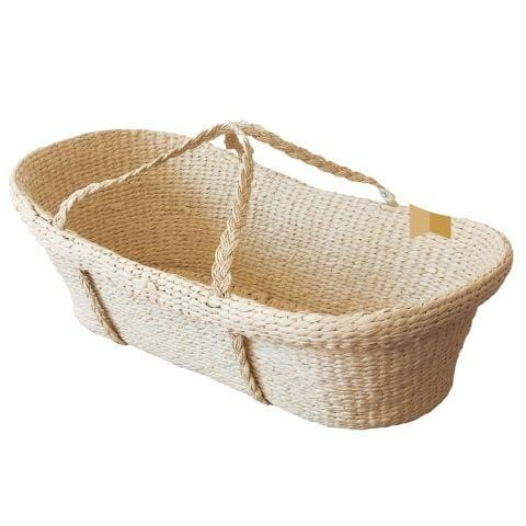 Nature Baby Moses Basket - Naked Baby Eco Boutique