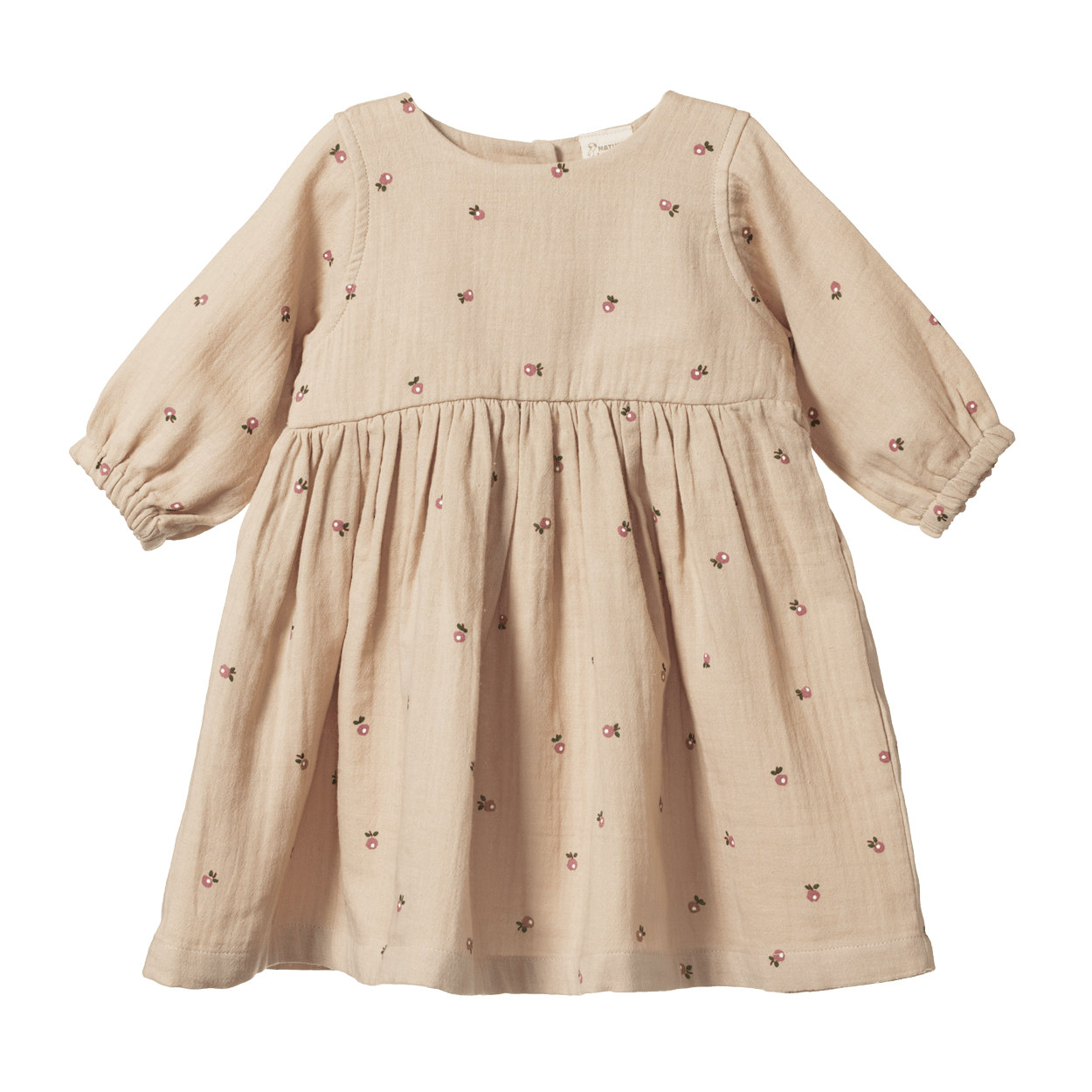 Nature Baby Organic Cotton Ada Dress - Naked Baby Eco Boutique