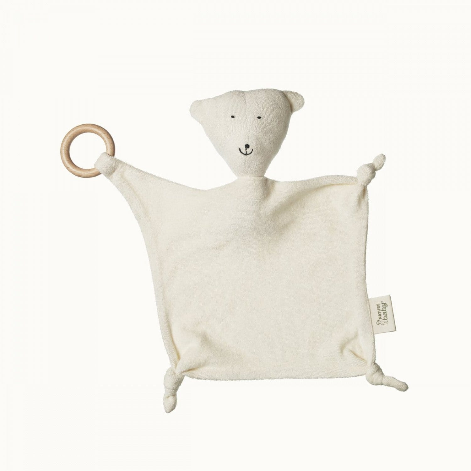 Nature Baby Organic Cotton Buddy Bear - Naked Baby Eco Boutique