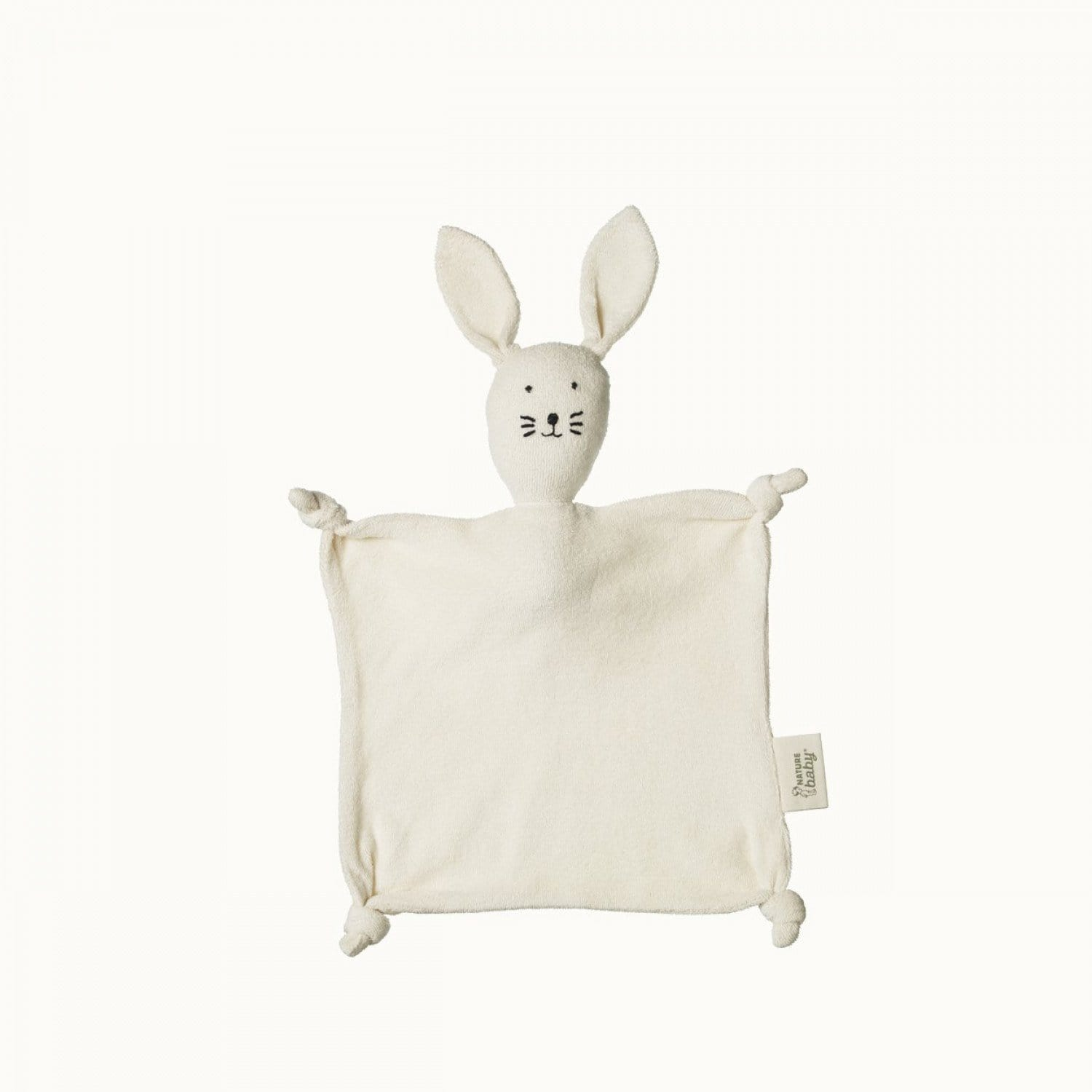 Nature Baby Organic Cotton Casey Cuddle Bunny - Naked Baby Eco Boutique