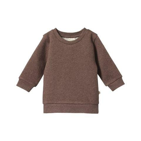 Nature Baby Organic Cotton Emerson Sweater - Naked Baby Eco Boutique