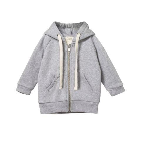 Nature Baby Organic Cotton Hoodie Sweatshirt (Multiple Variants) - Naked Baby Eco Boutique