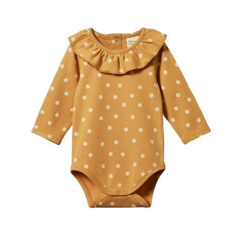 Nature Baby Organic Cotton Primrose Onesie - Naked Baby Eco Boutique
