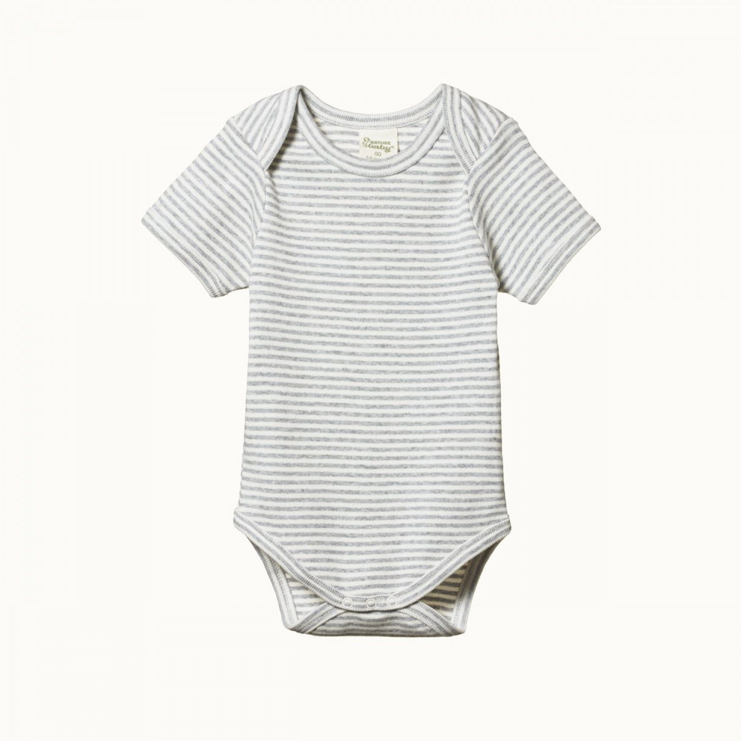 Nature Baby Organic Cotton Short Sleeve Onesie (Multiple Variants) - Naked Baby Eco Boutique