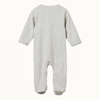 Nature Baby Organic Cotton Stretch & Grow Suit (Multiple Variants) - Naked Baby Eco Boutique