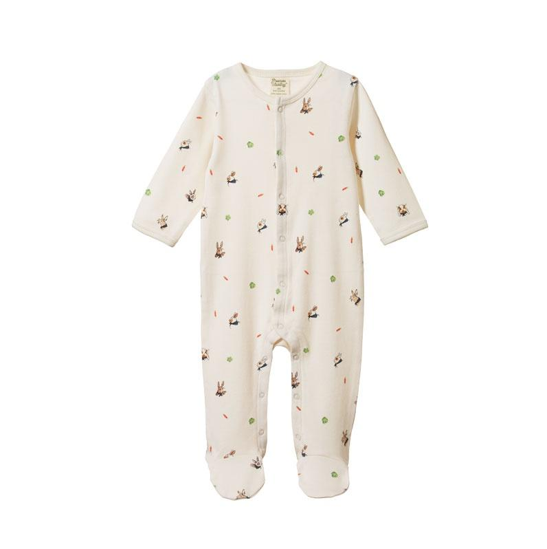 Nature-Baby-Organic-Cotton-Stretch-and-Grow-Suit-Bunny-Garden-Naked-Baby-Eco-Boutique