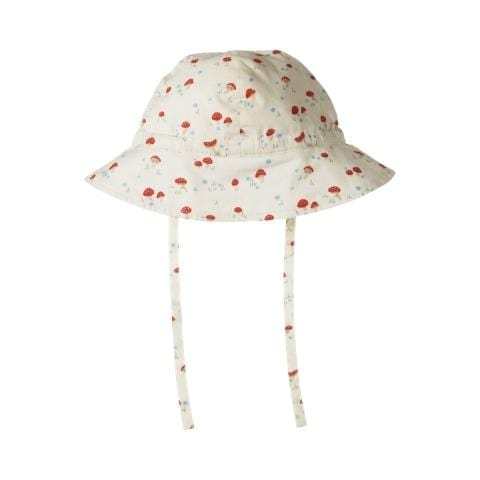 Nature Baby Organic Cotton Poplin Sunhat (Multiple Variants) - Naked Baby Eco Boutique