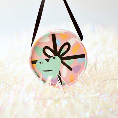 No Nasties Limited Edition Pink Gift Bauble - Naked Baby Eco Boutique