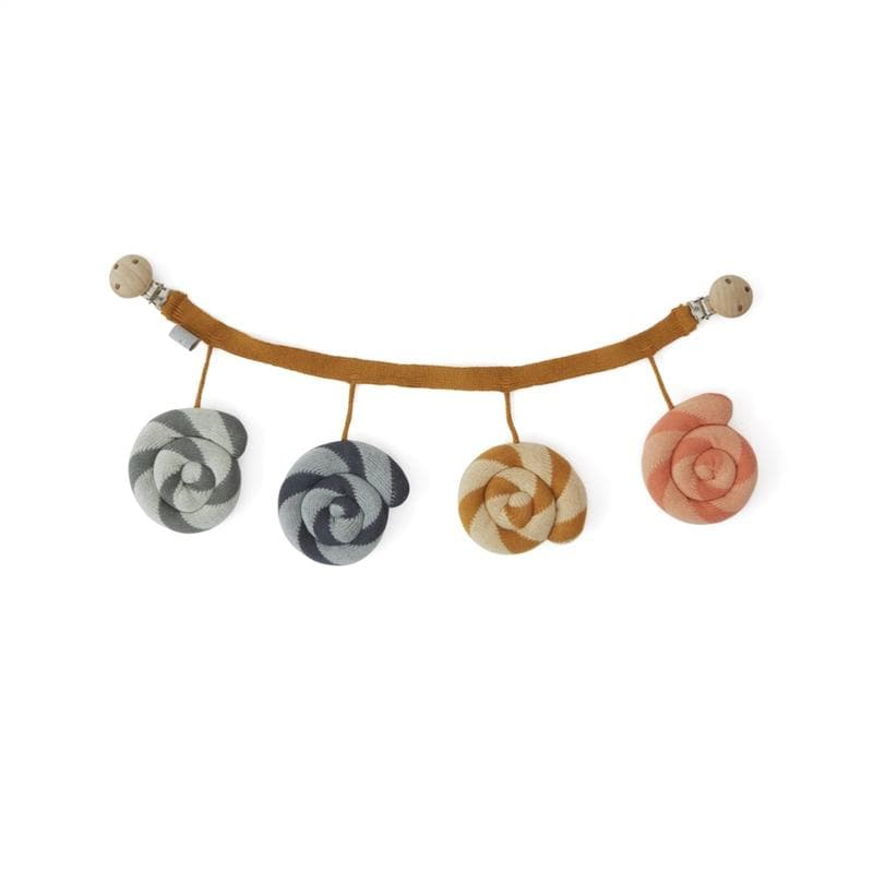 OYOY-mini-lolipop pram chain - Naked Baby Eco Boutique