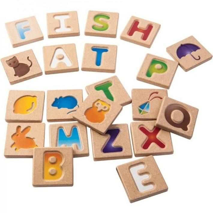 Plan Toys Alphabet A-Z - Naked Baby Eco Boutique