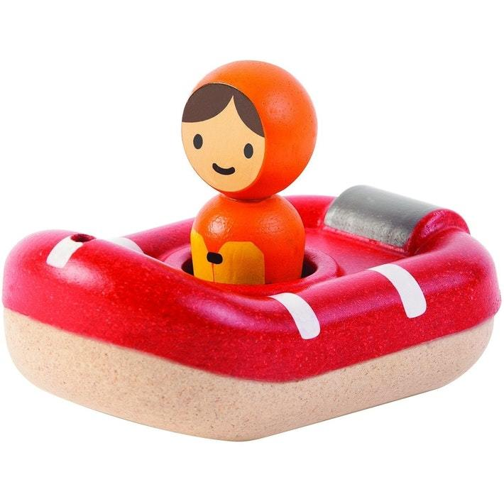 Plan Toys Coastguard Boat - Naked Baby Eco Boutique