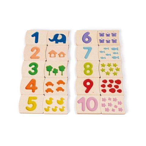 Plan Toys Numbers 1-10 - Naked Baby Eco Boutique
