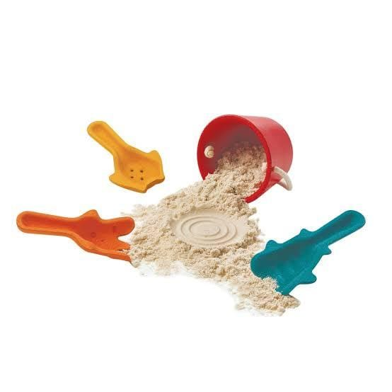 Plan Toys Sand Play Set - Naked Baby Eco Boutique