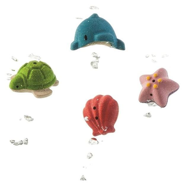 Plan Toys Sea Life Play Set - Naked Baby Eco Boutique