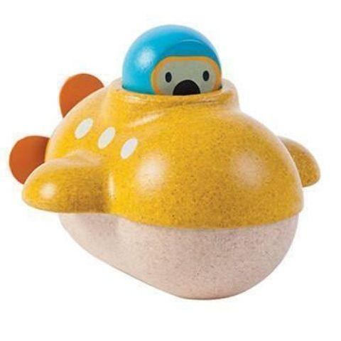Plan Toys Submarine - Naked Baby Eco Boutique