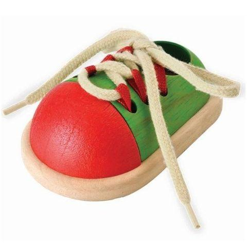 Plan Toys Tie-up Shoe - Naked Baby Eco Boutique